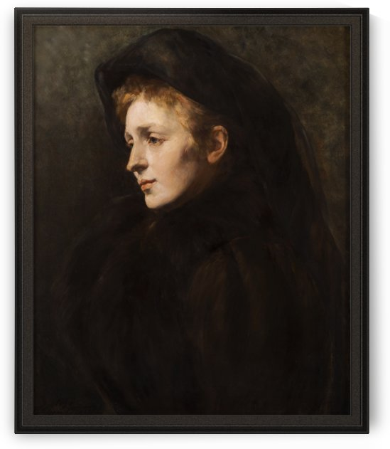 Lady in Mourning by Hildegard Thorell by xzendor7
