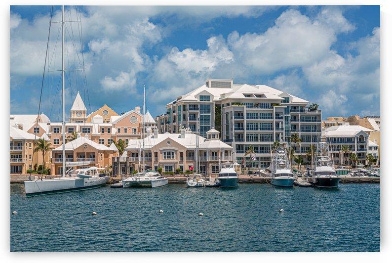Yachts at Bermuda Hotels by Darryl Brooks