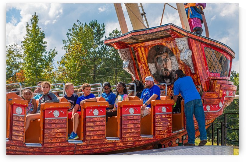 Loading Carnival Ride by Darryl Brooks
