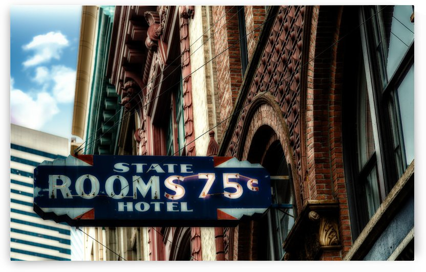 State Hotel Rooms 75 Cents by Darryl Brooks