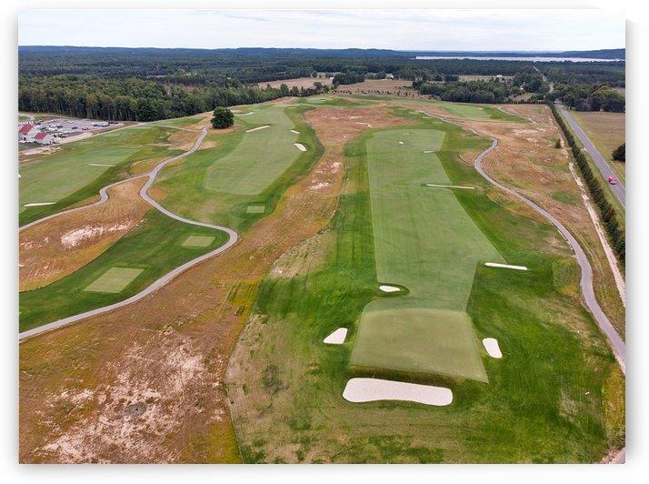 Arcadia Bluffs South Course back nine Par 5s by Cal Prest