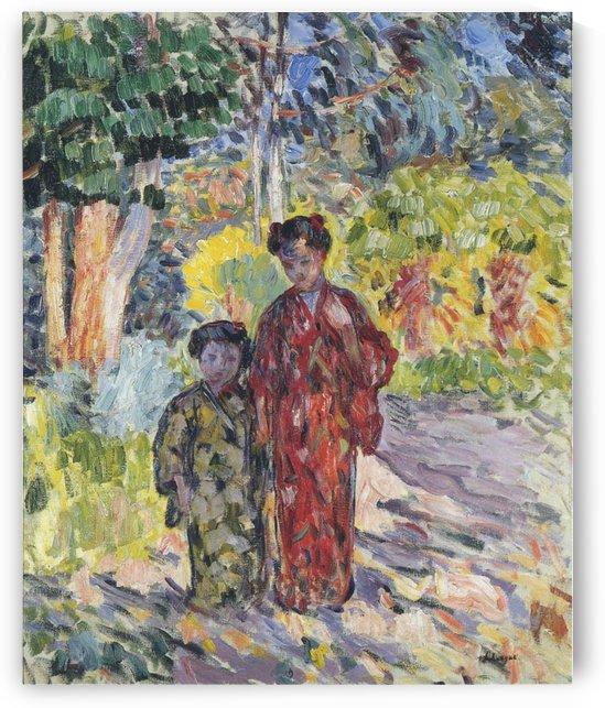Marthe and Nono by Henri Lebasque
