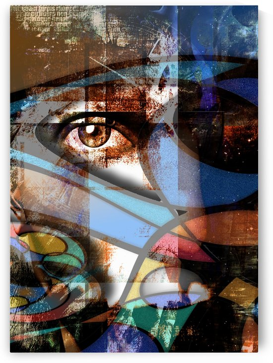 Abstract Eye by Bruce Rolff