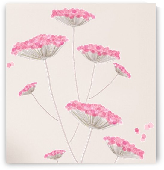 Pretty  in Pink  by Zaramar Paintings