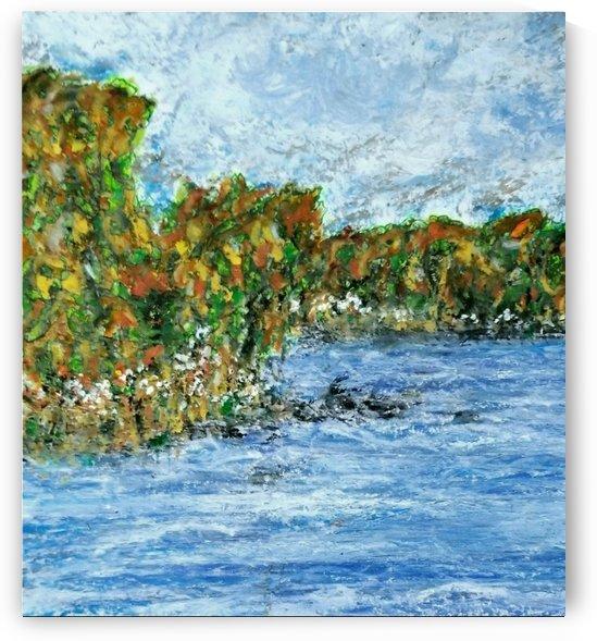 Fall at The Lake by djjf