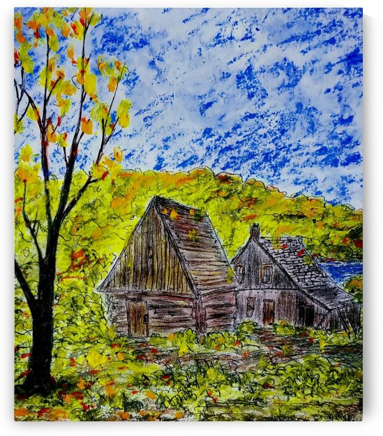Autumn at The Cabin by djjf