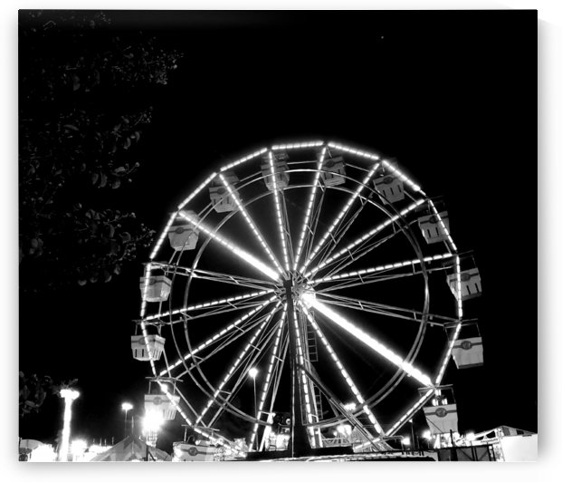 Ferris wheel Grey by Kate Jaxxon