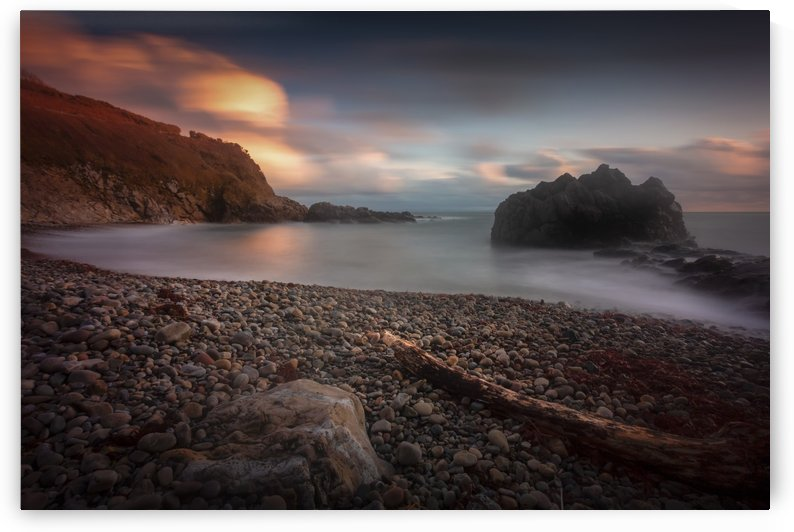 Rotherslade Bay on the Gower peninsula by Leighton Collins