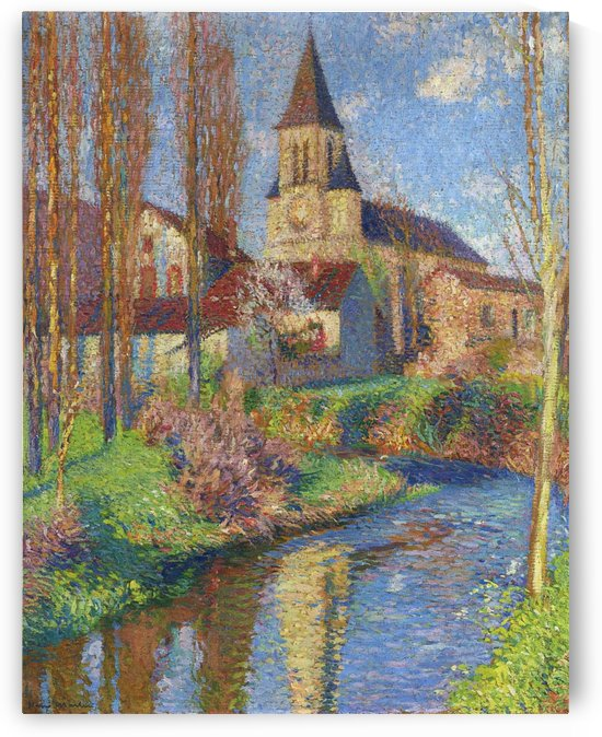 The Church at Labastide-du-Vert by Henri Martin