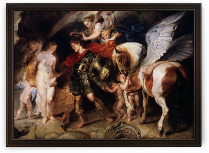 Perseus and Andromeda by Peter Paul Rubens by xzendor7