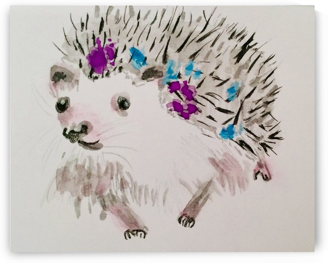A Little Prickly One  by Zaramar Paintings
