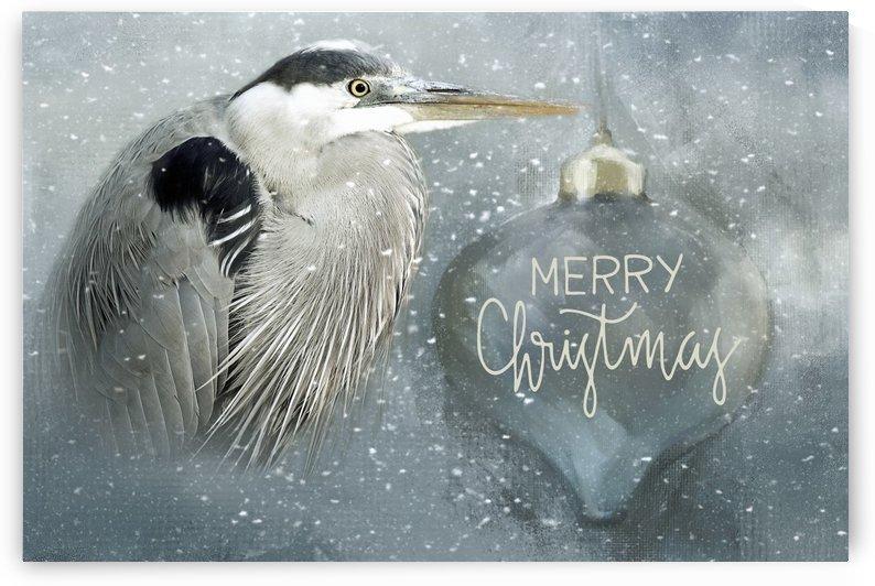Christmas Heron by HH Photography of Florida