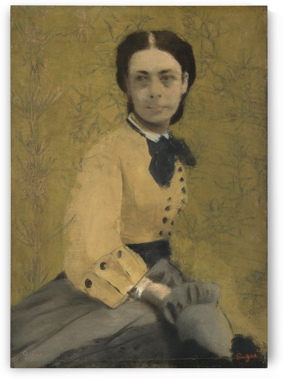 Princess Pauline de Metternich by Hilaire-Germain-Edgar Degas