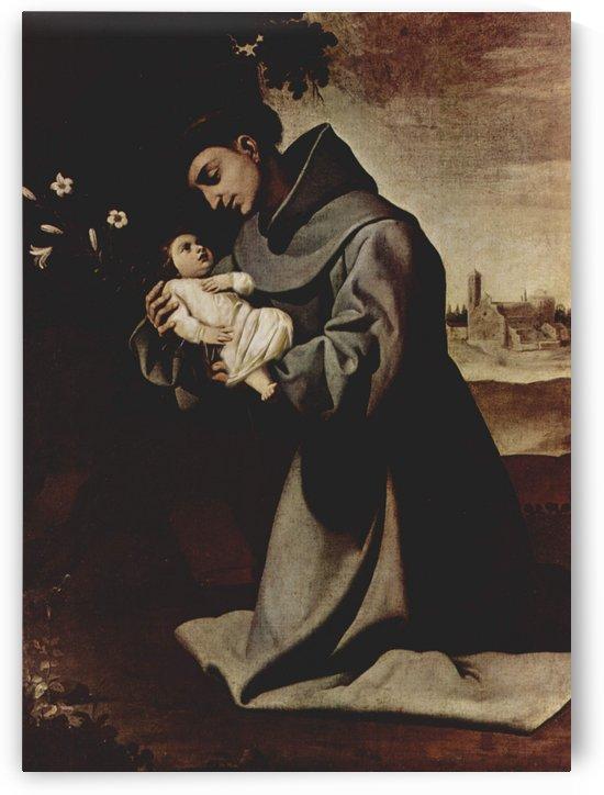Saint Anthony of Padua by Francisco de Zurbaran