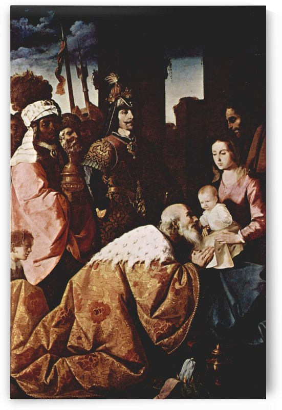 Adoration of Magi by Francisco de Zurbaran