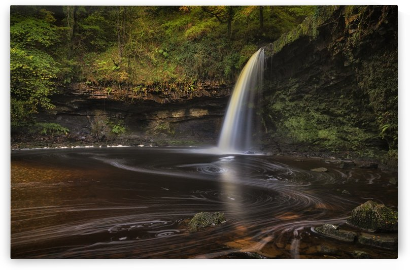 Sgwd Gwladus AKA Lady Falls by Leighton Collins