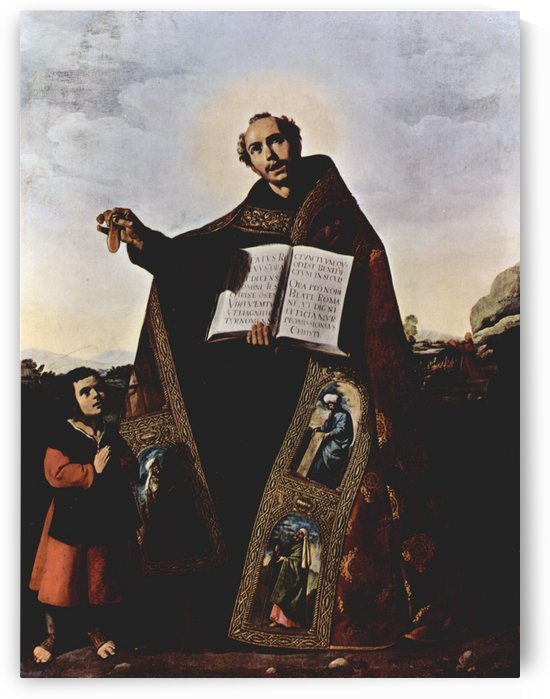 St. Romanus and St. Barulas of Antioch by Francisco de Zurbaran