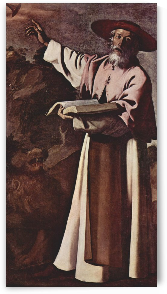 St. Jerome by Francisco de Zurbaran