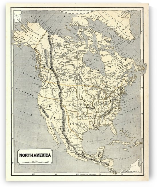 North American atlas Morses 1842 by AmilenaCollection