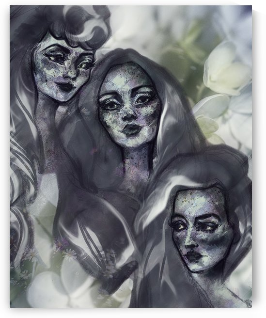 The Three Graces by Audrey-Anne Richard