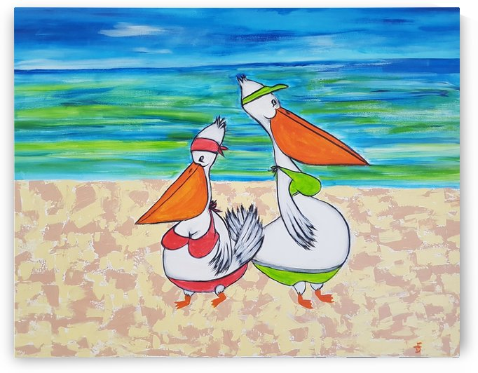 Pelican Mothers by Di Falzon