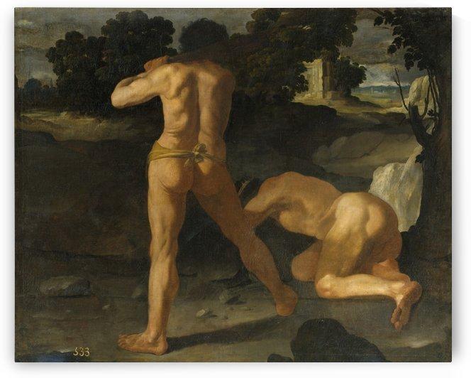 Hercules vence al rey Gerion by Francisco de Zurbaran