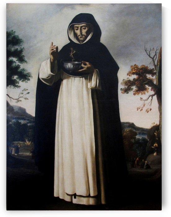 Saint Louis Bertrand by Francisco de Zurbaran