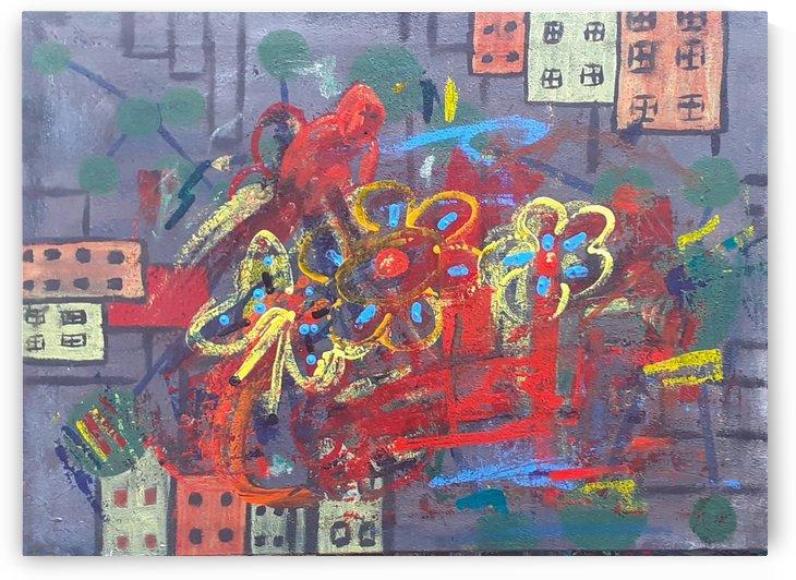 Unlocking memories  - My first wax crayons by Sania Zehra