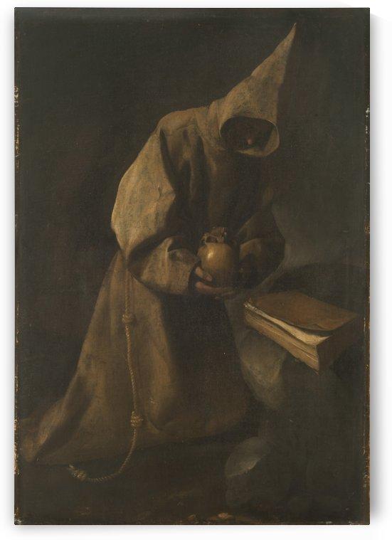 Monk by Francisco de Zurbaran