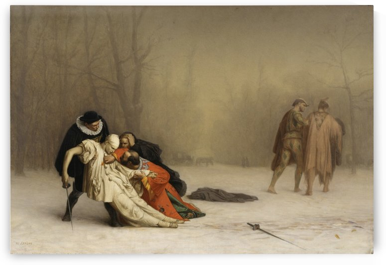 The Duel by Jean-Leon Gerome