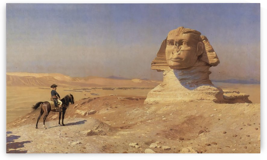 Face to face by Jean-Leon Gerome