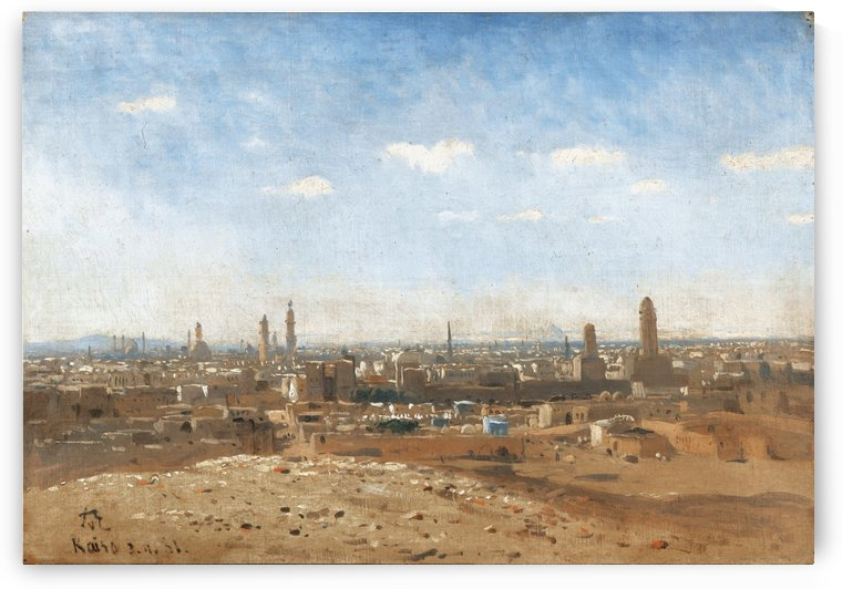 View of Cairo by Jean-Leon Gerome