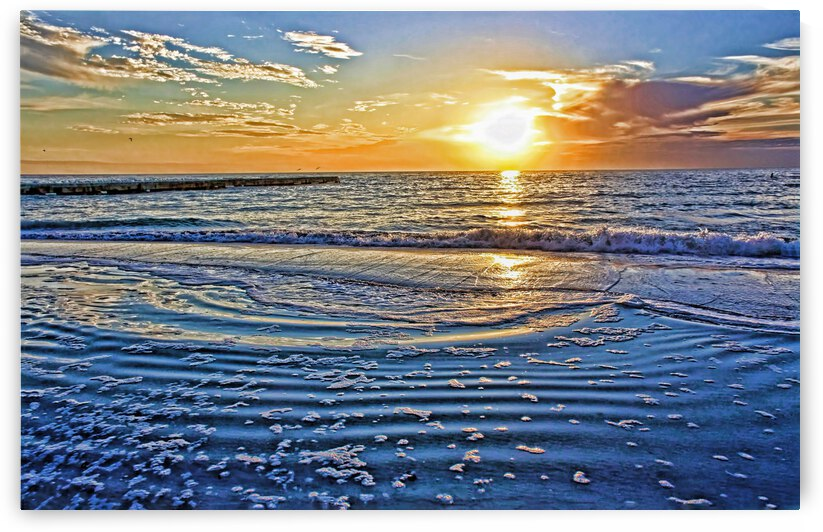 At The Beach 1 by HH Photography of Florida