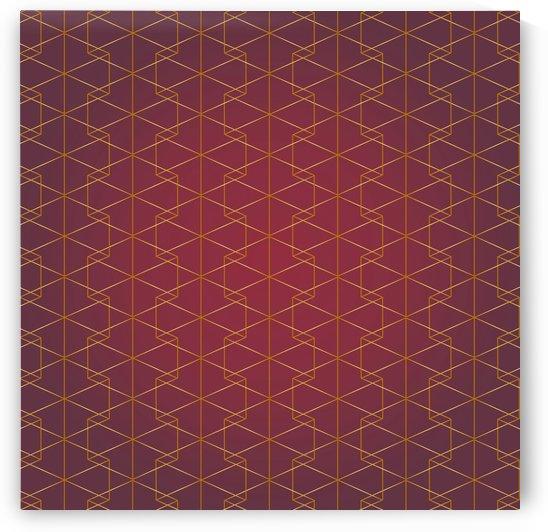 Elegant Geometric Pattern by rizu_designs