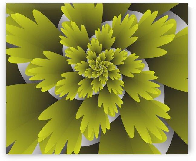 3D LEAF Blooms by rizu_designs