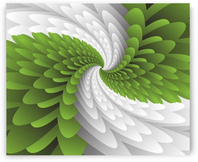 Green Majestic Wings by rizu_designs