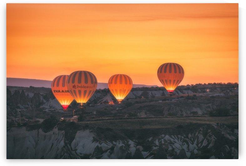 Hot Air Balloons by Robert Zahra