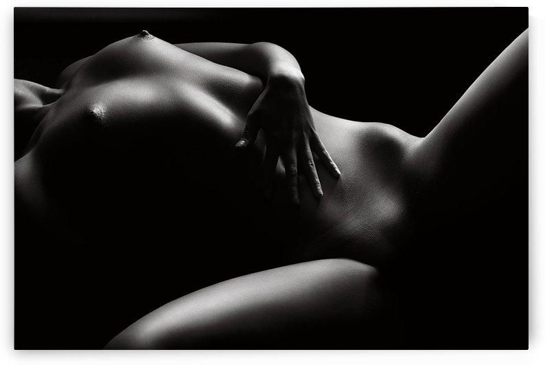 Nude woman bodyscape 46 by Johan Swanepoel