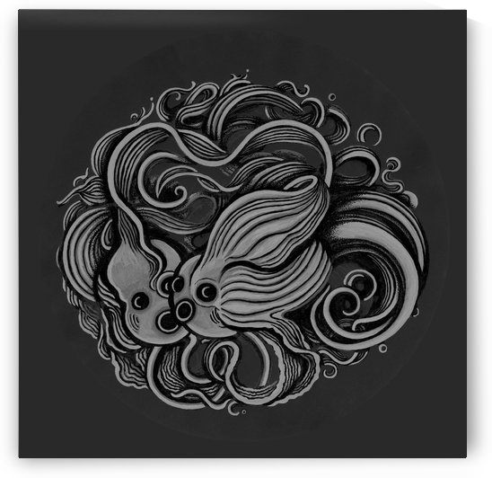 Lunar New Year Greyscale by Altered States of Gravity