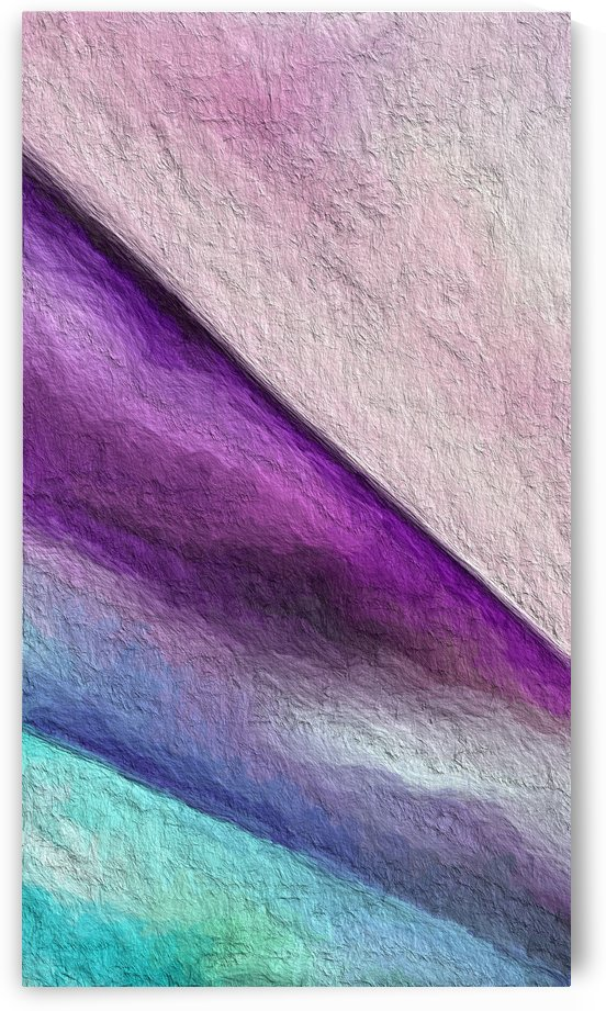 Contemporary roygbiv by Mary Crook