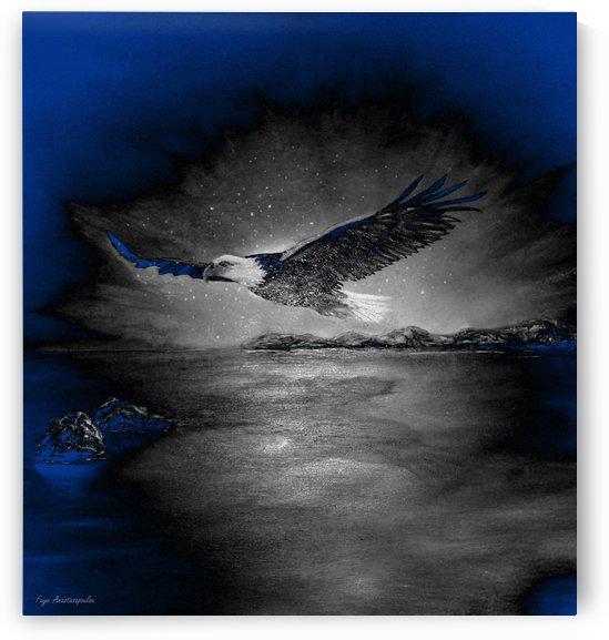 Stardust Eagle by Faye Anastasopoulou