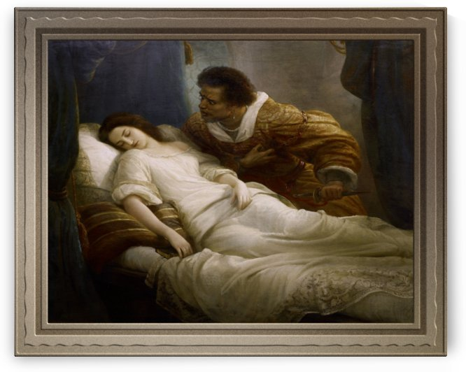 Othello by Christian Kohler Old Masters Classical Art Reproduction by xzendor7