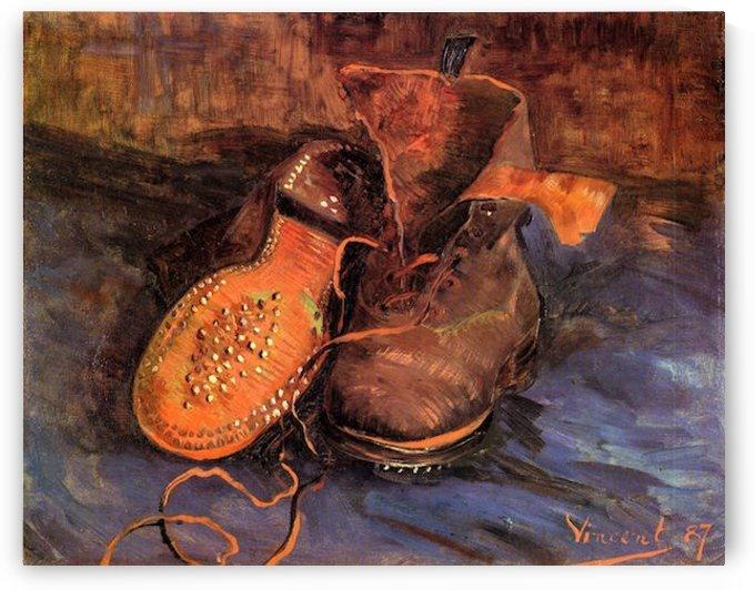 A Pair of Shoes4 by Van Gogh by Van Gogh