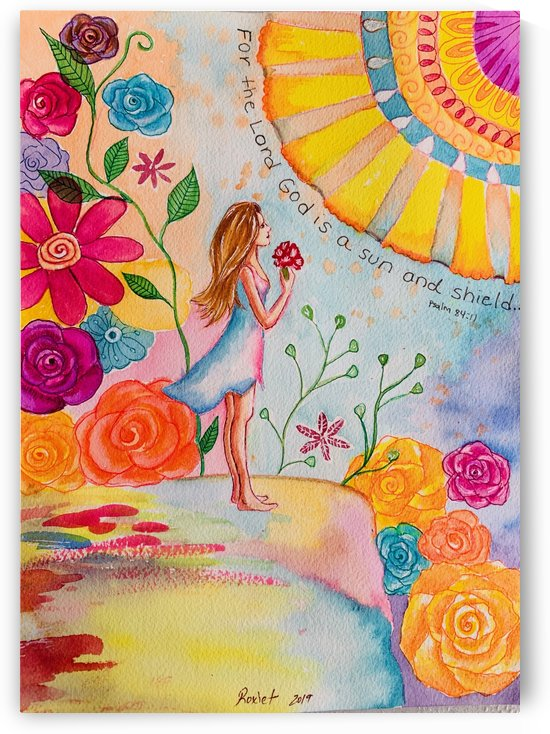 Psalm 84:1 by Roxie Colors
