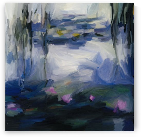 Monet inspired Giverny by Sarah Butcher