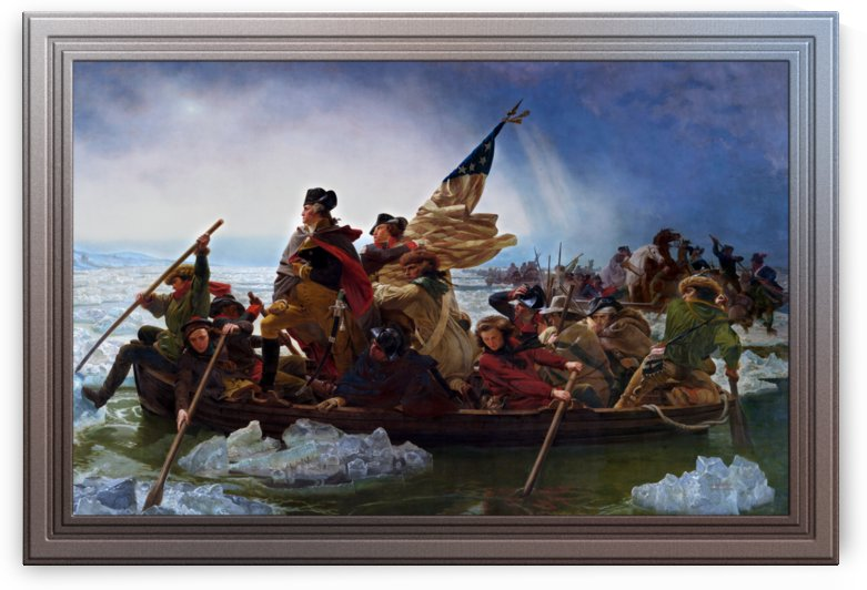 Washington Crossing the Delaware by Emanuel Leutze by xzendor7