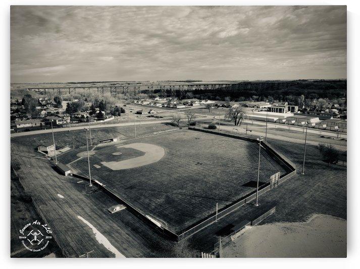 Charlie Brown Memorial Baseball Field Valley City ND by Jensen Air LLC