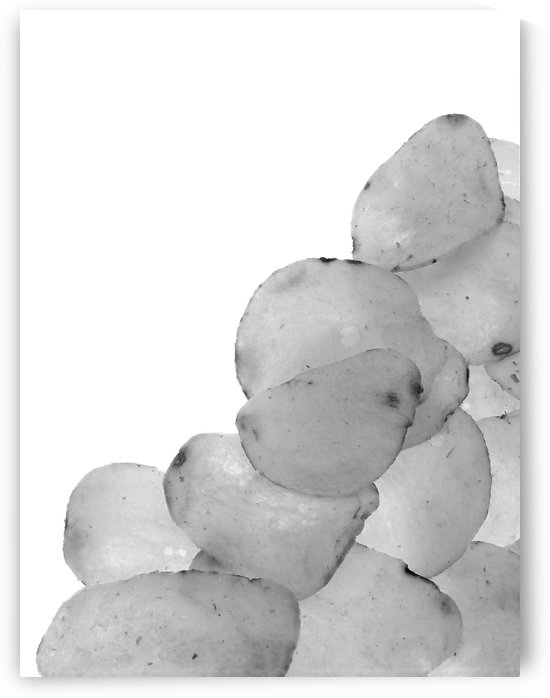 Potato Chips B&W by Ian Barr