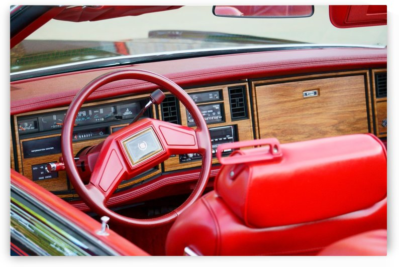 Classic Cadillac Convertible Interior by RDCushing