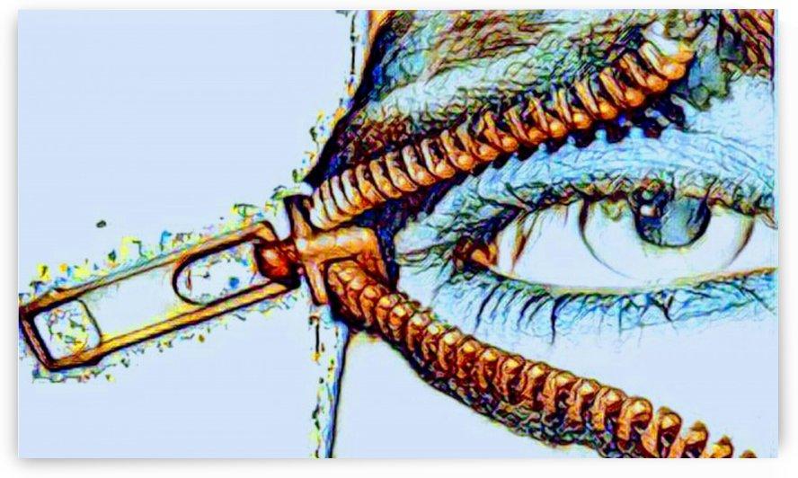 zipper eye by Bratty ART